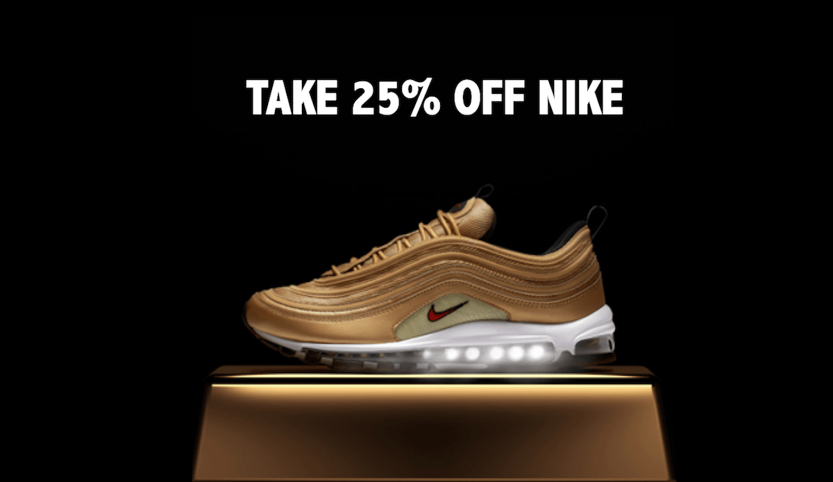 25% Off Nike For Your Birthday In 2020