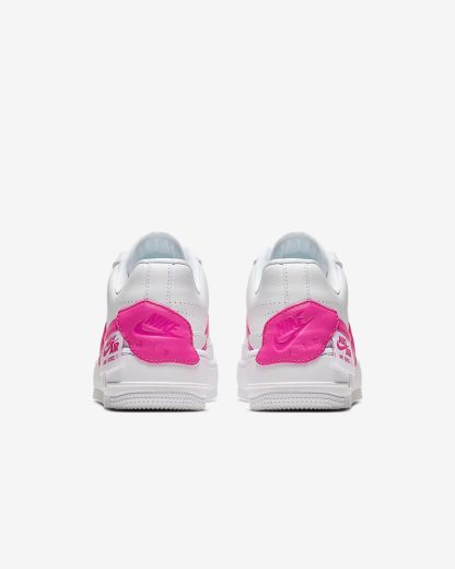 Nike Air Force 1 Jester XX Shoe - Pink White - heel