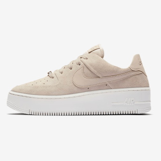 Nike Air Force 1 Sage Low - Beige - Shoes 2019