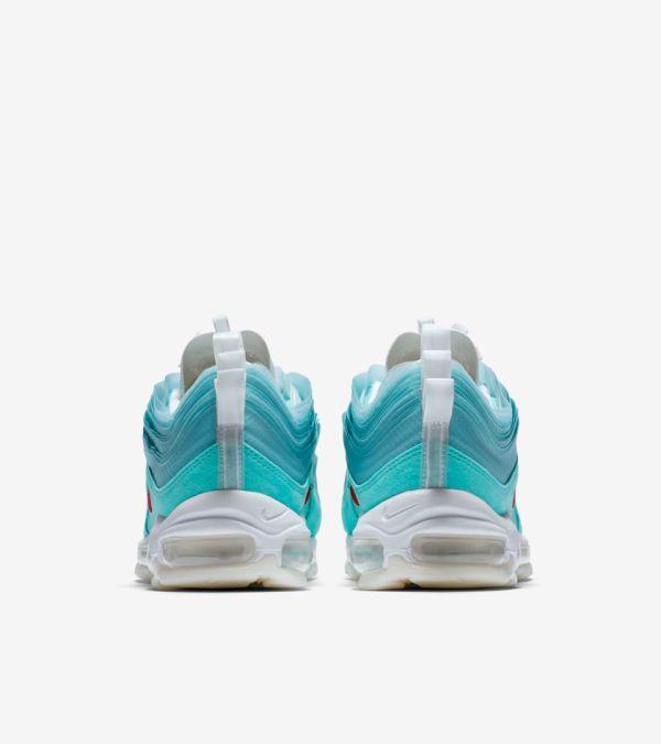 Nike Air Max 97 Shanghai Kaleidoscope - heels