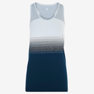Sweaty Betty - Athlete Seamless Workout Vest - Blue - Size Small