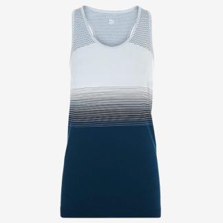 Sweaty Betty - Athlete Seamless Workout Vest - Blue - Size Small