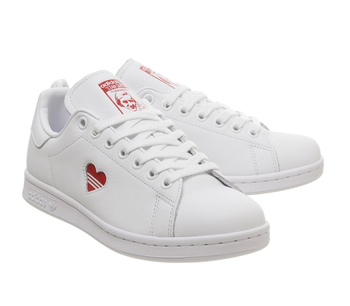 adidas Stan Smith Red Heart Valentine's