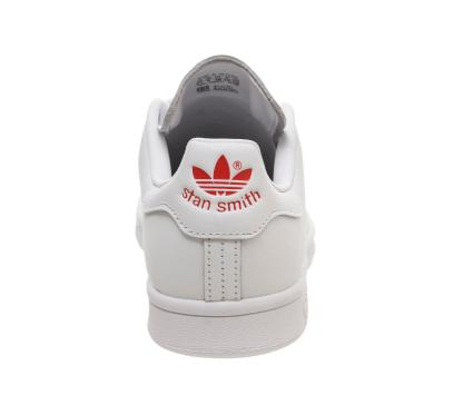 adidas Stan Smith Red Heart Valentine's Day Shoes - heel