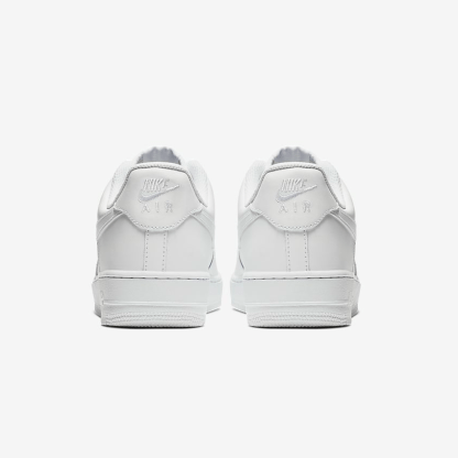Nike Air Force 1 '07 Shoe - White - heels
