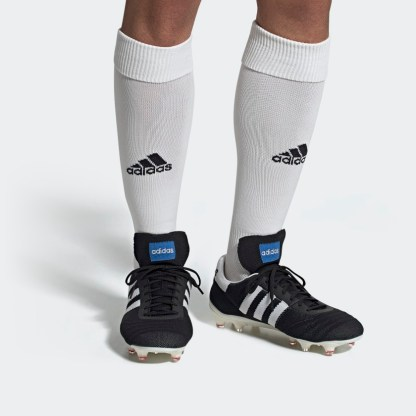 adidas Copa 70 Firm Ground Football Boots - black on foot