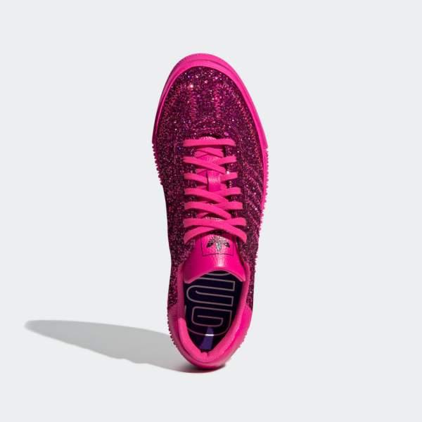 adidas Originals Sambarose Shoes - Pink Glitter - above shot