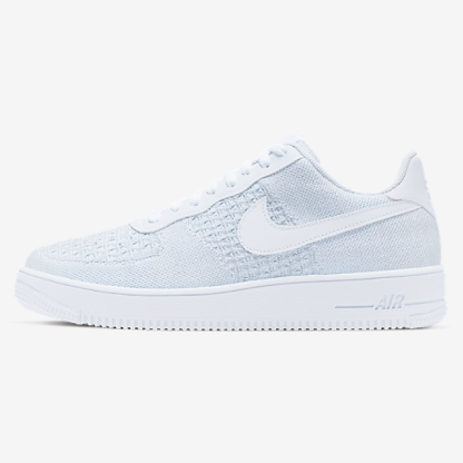 Nike Air Force 1 Flyknit 2.0 - white shoes