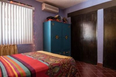 Closet space in 2nd bedroom