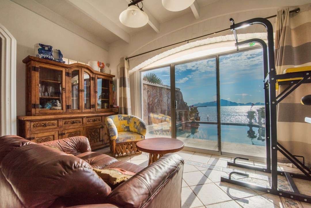 San Carlos Sonora Waterfront home for sale.