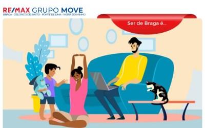 Ser de Braga É… Ficar em Casa!