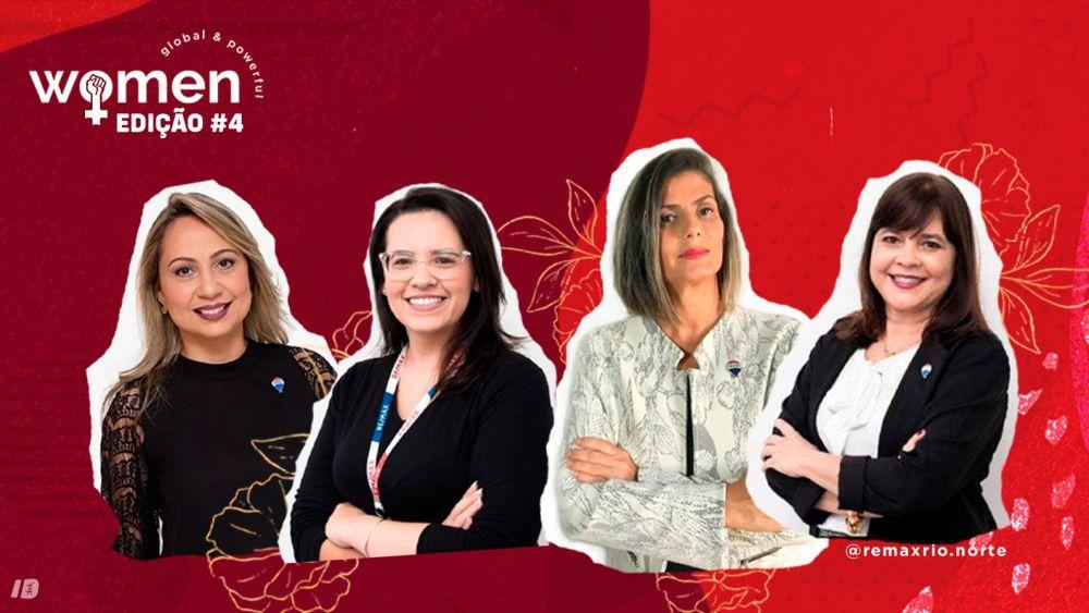 Women Global Poweful. Mudar de carreira é possível, vem pra REMAX na Zona Norte carioca carreira imobiliaria franquia imobiliaria