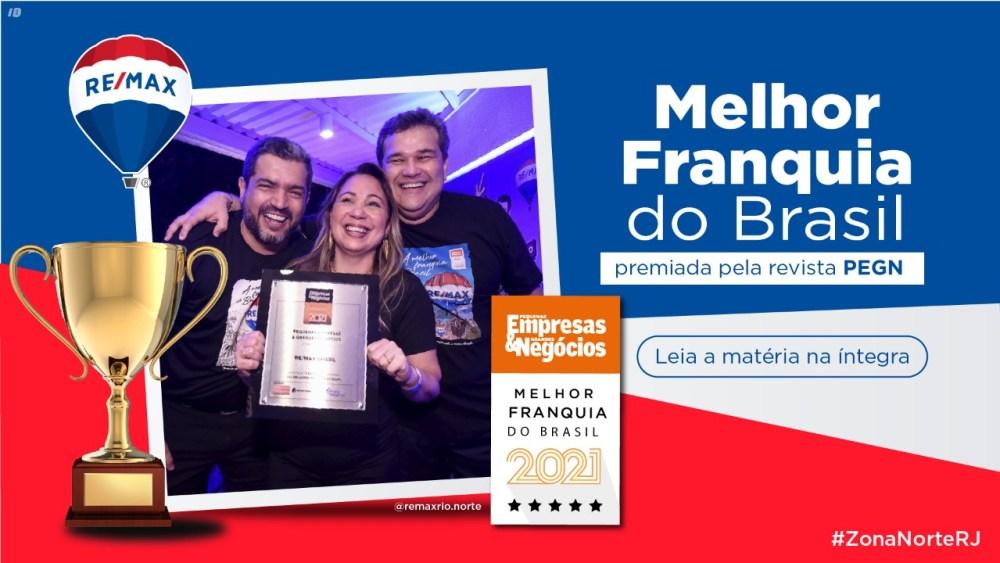 REMAX Brasil conquista prêmio de Franquia do Ano pela revista Pequenas Empresas Grandes Negócios