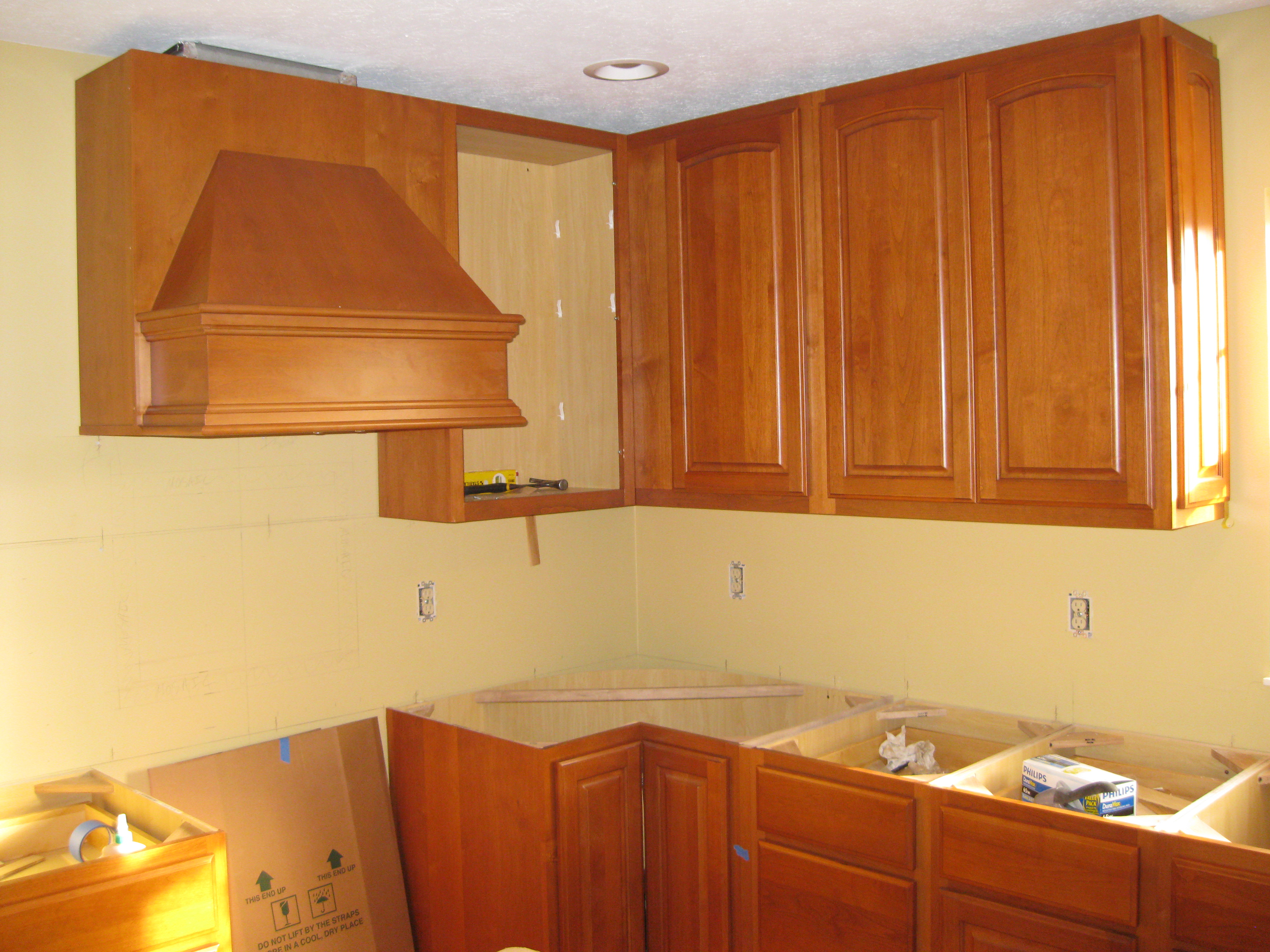 West Chester Kitchen/Office – Wall Cabinets