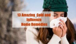 13 Amazing Cold and Influenza Home Remedies