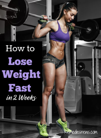 How to Lose Weight Fast in 2 Weeks with Exercises : Easy 8 Weight Loss Tips to Lose 10 Pounds Fast