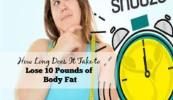 How Long Does It Take to Lose 10 Pounds of Body Fat