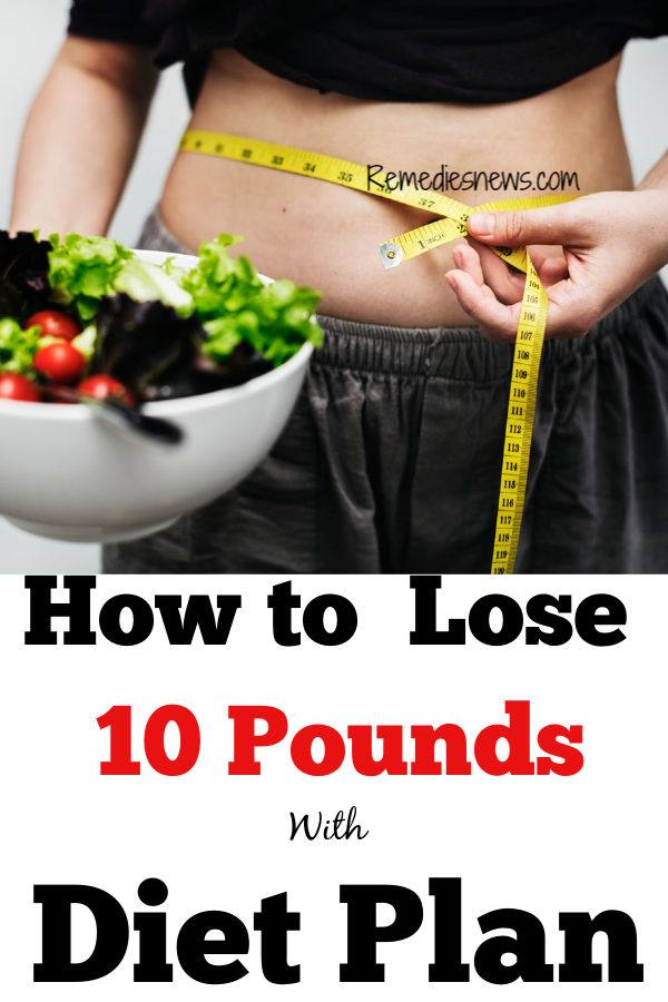 How to lose 10 pounds with diet plan