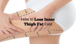 How to Lose Inner Thigh Fat Fast in a Week- Workout and Diet at Home