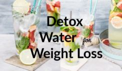 Detox Water Recipes to Lose Weight and Belly Fat at Home