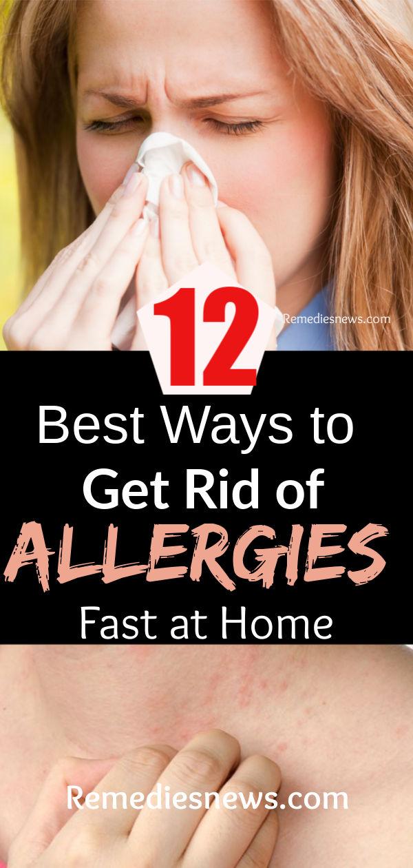 12 Best Ways to Get Rid of Allergies and Sinus Fast at Home