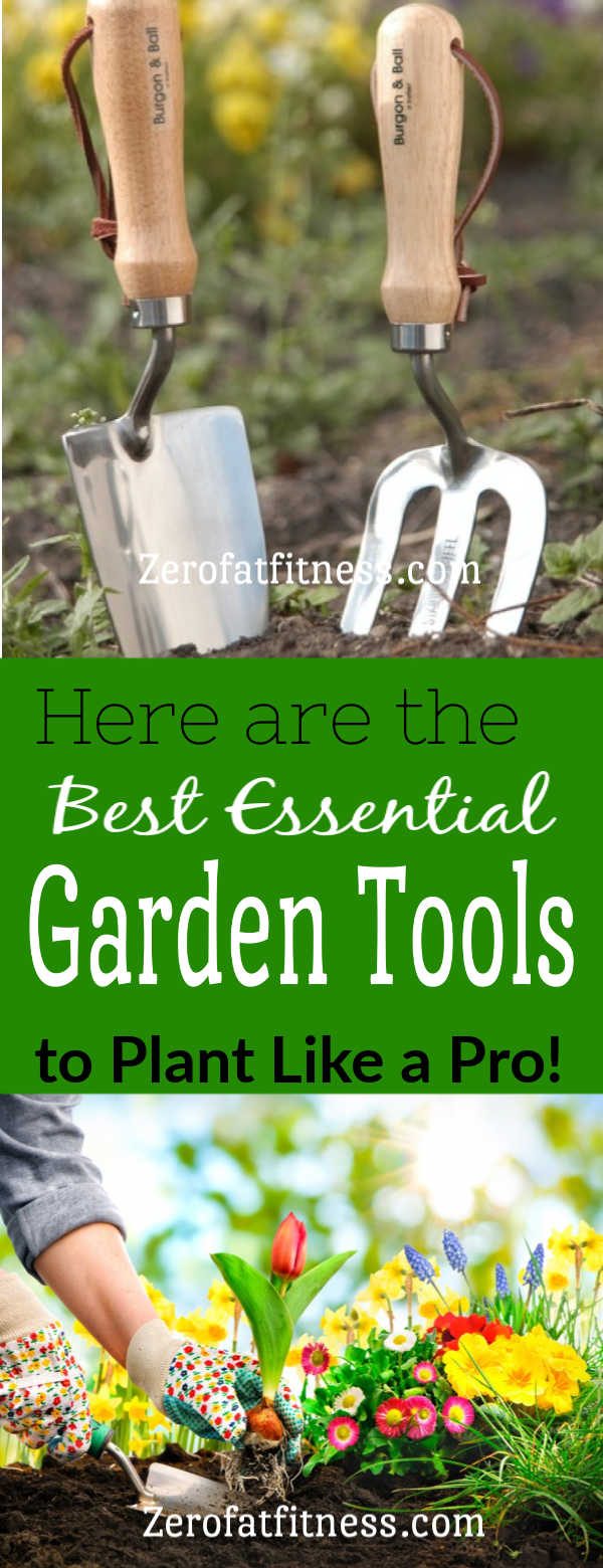 13 Best Essential Garden Tools for Beginners. The right garden tools make any job in the garden easier, whether you're planting, weeding, pruning, or clearing leaves