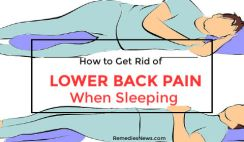 How to Relieve Lower Back Pain While Sleeping: 7 Best Natural Treatments