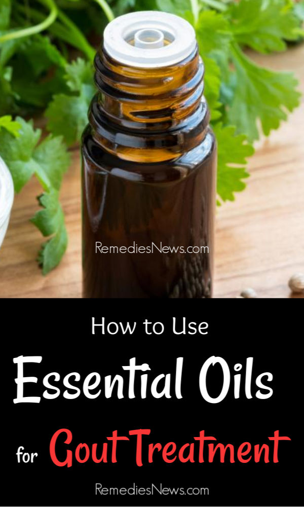 Essential Oils for Gout Treatment