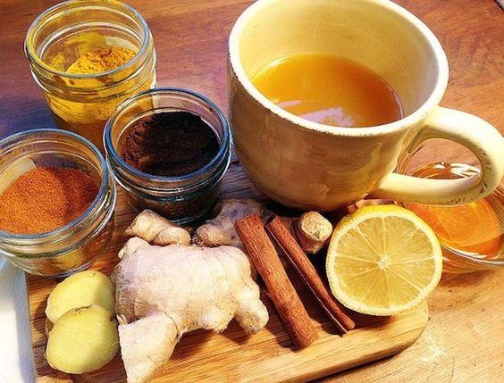 Dieta de jengibre canela y limon