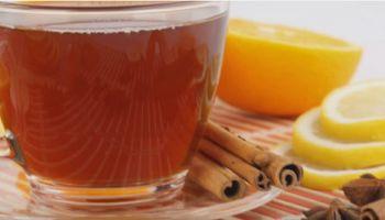 Té de canela, limón y miel