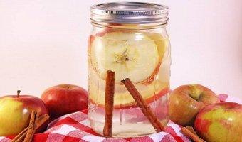 ¿Para qué sirve agua con manzana y canela? Algo sorprendente.