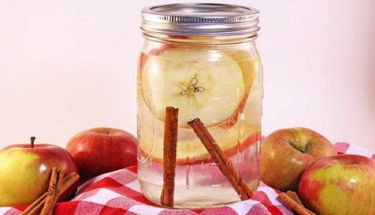 Para qué sirve el agua de canela con manzana