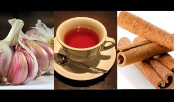 Grandes beneficios de la canela y el ajo a la presión alta