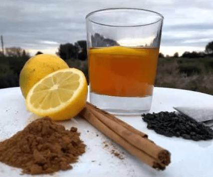 Té verde, canela y miel