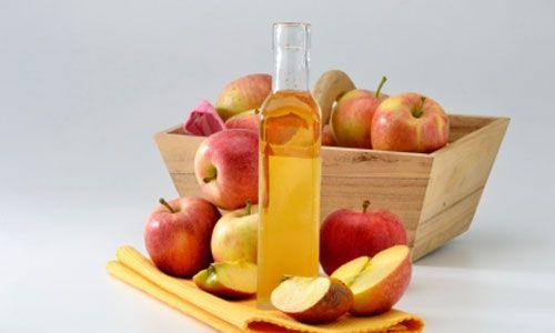 Quitar verrugas con vinagre de manzana