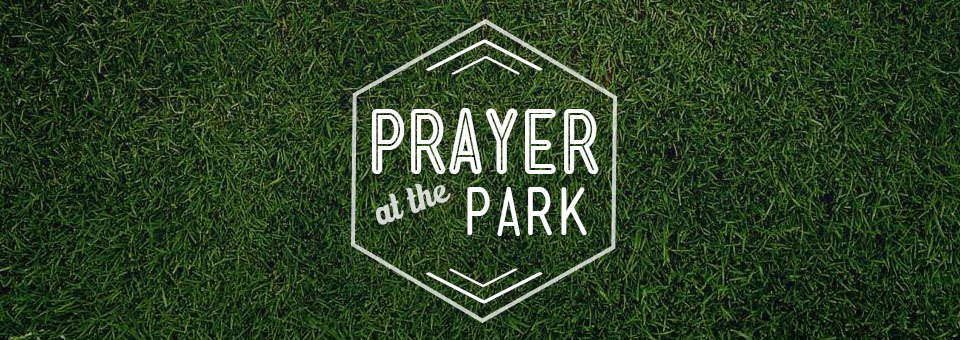 Prayer at the Park banner