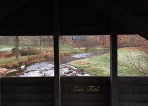 View from the covered bridge at RVR Camp in Manchester, MD