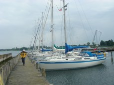 First box mooring Stubbekobing