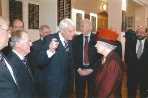 John meeting HM the Queen when she visited KES in 2007