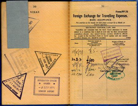 passport foreign exchange
