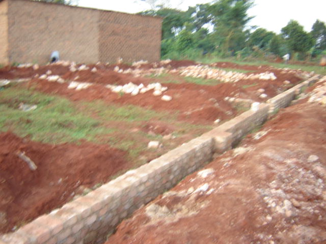 Dining Hall Foundation- A multi-purpose building to be used all day