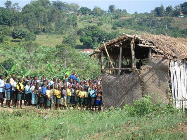The school in Masaka--where Ivan lives
