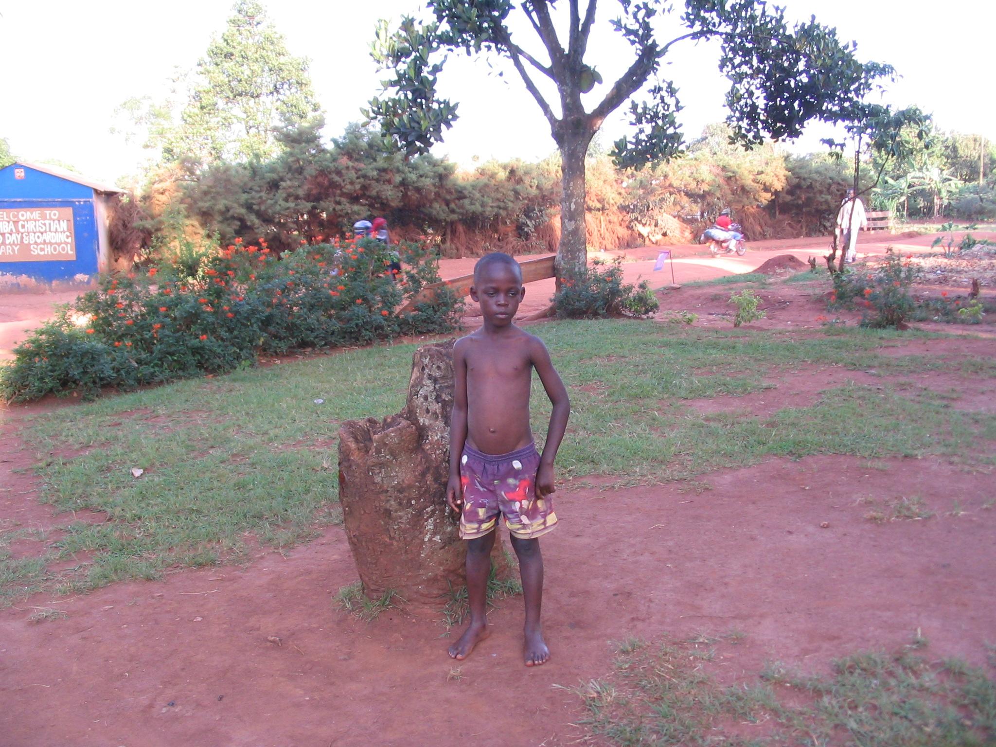 Umaru Kasijja- 7 year old orphan