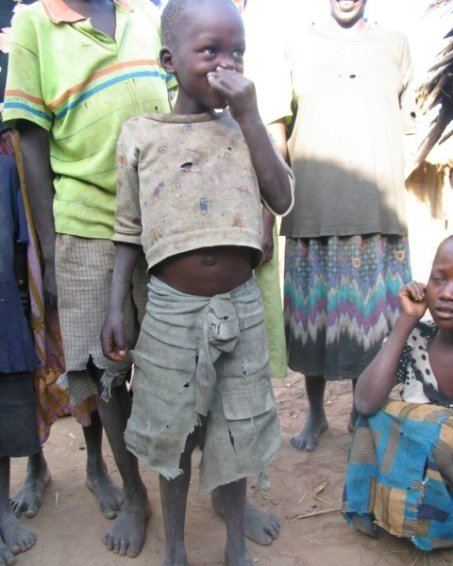 One of the little ones in Teso