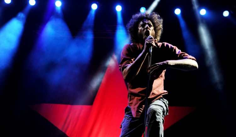 Image result for rage against the machine live concert pics""