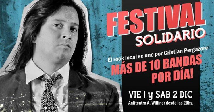 Afiche Festival solidario