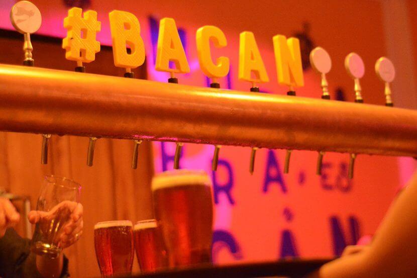 Cartel de Bacan Bar