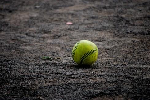 Balle de baseball, parc Jeanne-Mance.