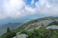 Au sommet du Mont Mansfield, Underhill, Vermont (US)