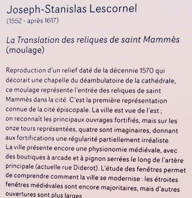 17 Texte Translation reliques